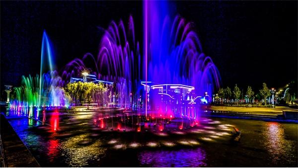 夜游灯光设计提升文旅项目夜间观赏效果