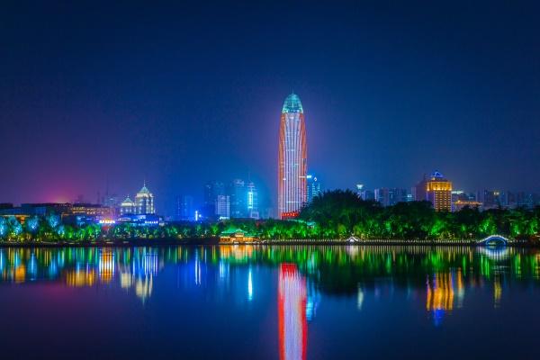 城市的景观亮化照明工程是城市特色的体现