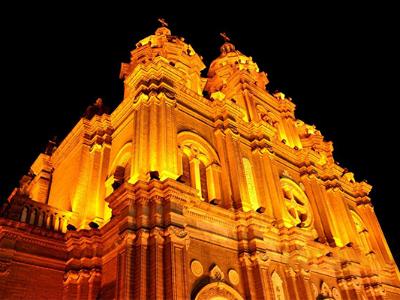 教堂led灯光亮化-打造夜间光环境