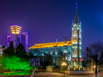 教堂亮化方案-点亮艺术生活