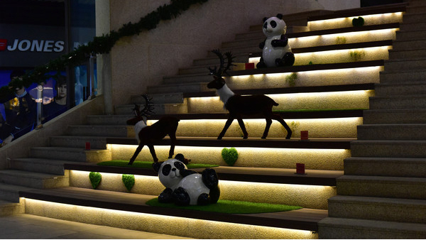 采用不同楼梯照明方式的优缺点分析