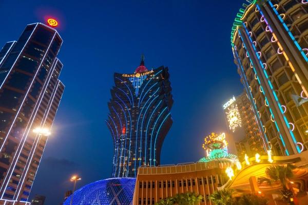 城市大楼灯光亮化