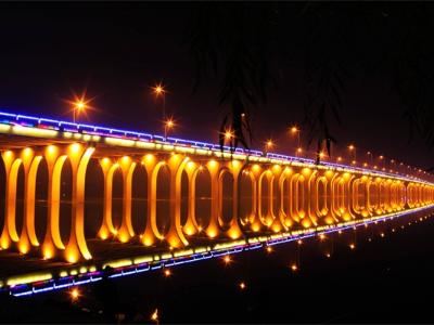 桥梁亮化-塑造桥体夜间形象