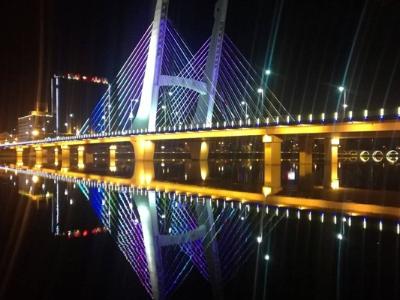 大桥亮化工程-体现城市现代气息