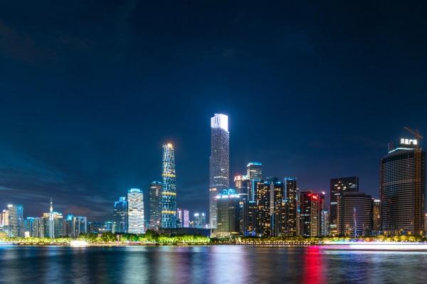 城市夜间灯光亮化