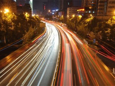道路灯光亮化