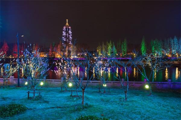 公园灯光亮化设计