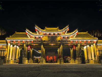 古建筑照明亮化-让建筑赋予造型艺术感
