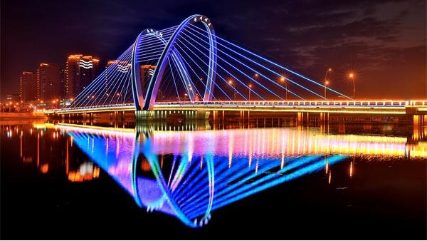 户外灯光亮化工程点亮城市的精神之光