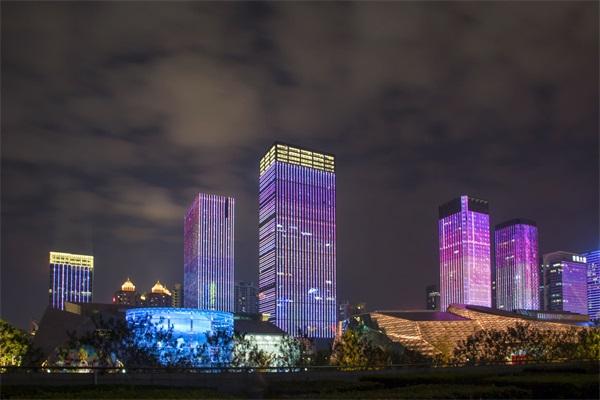 大楼夜景照明