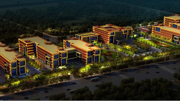 郑州中科新兴产业技术研究院楼体亮化