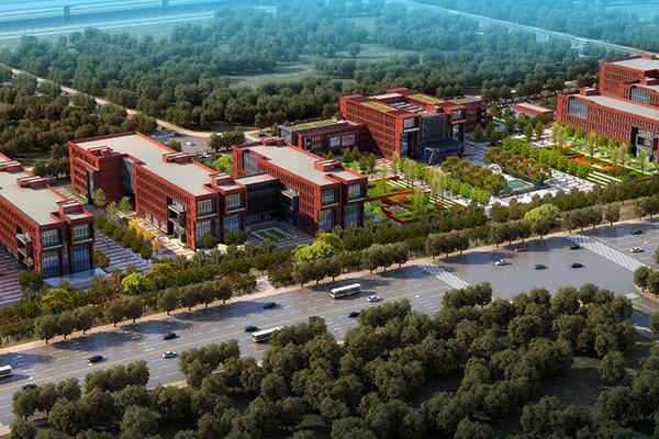 郑州研究院楼体亮化