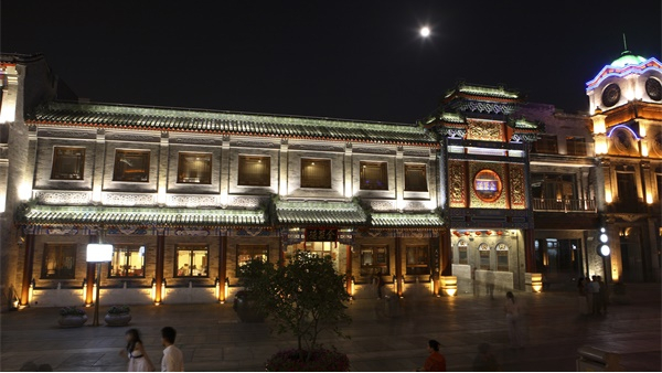 古建筑灯光亮化工程推动城市旅游业的发展