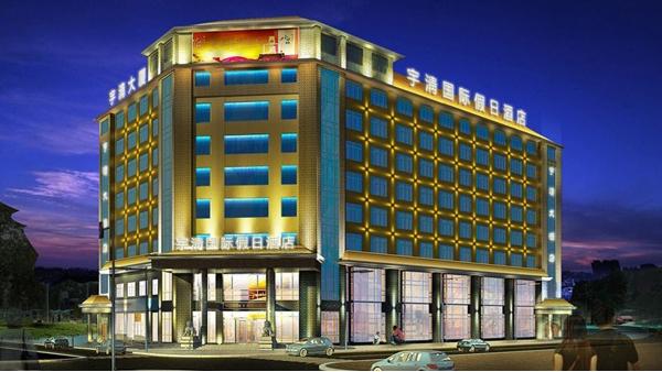 """led酒店夜景照明设计不能一味的追求""""亮"""""""
