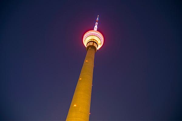 铁塔亮化设计-挑选合理照明方式