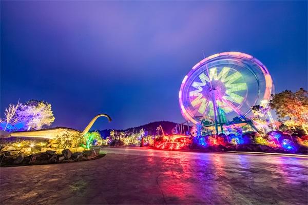 主题乐园夜景照明