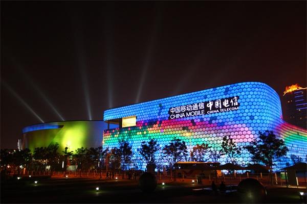 城市商业建筑亮化