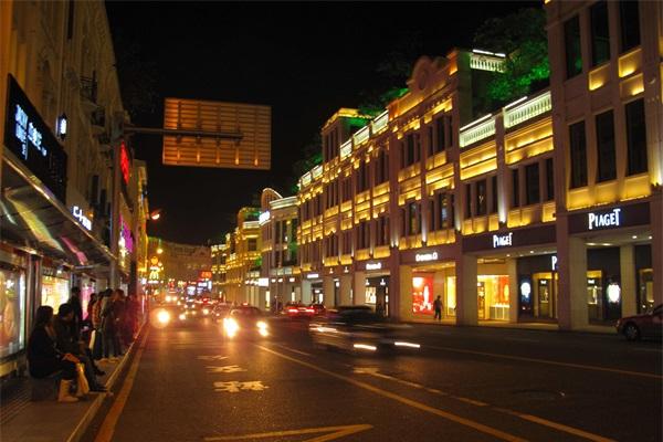 商业街亮化照明