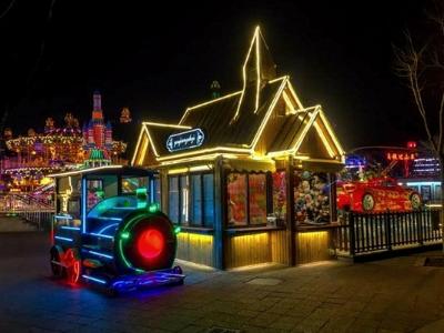 游乐园亮化公司-打造舒适的夜景形象