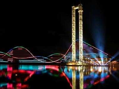 游乐园亮化设计-提升游乐园文化品位