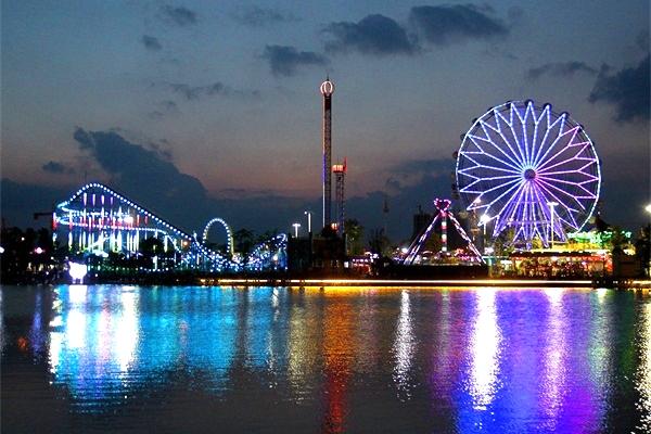 游乐园照明亮化