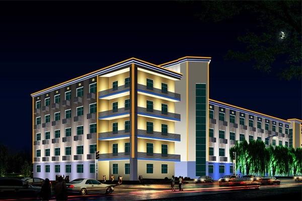 写字楼灯光亮化设计提升建筑自身的价值