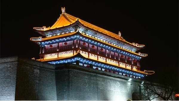 古建筑灯光亮化工程让人们感受历史传承文化!
