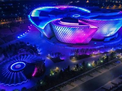河南场馆亮化-推动城市经济发展