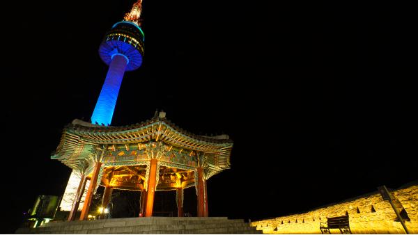 旅游景区夜景照明展现夜晚不一样的风光