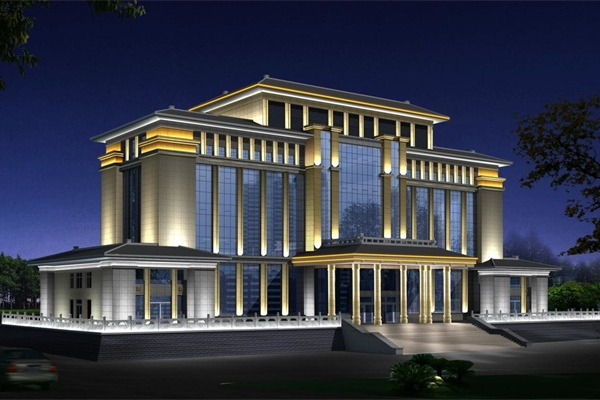 建筑亮化设计需要灵活的选用灯具