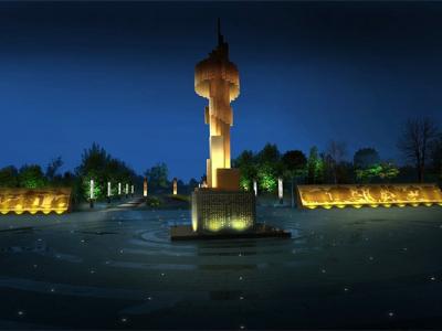 广场亮化-提高市民夜间乐趣