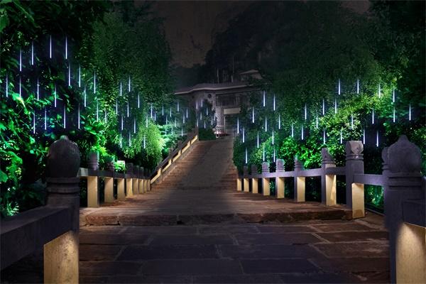 园林景观亮化设计,让城市充满生命力 !