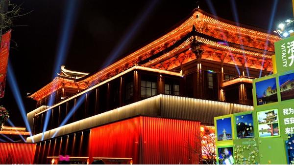 中式建筑亮化设计常用的三种照明方式