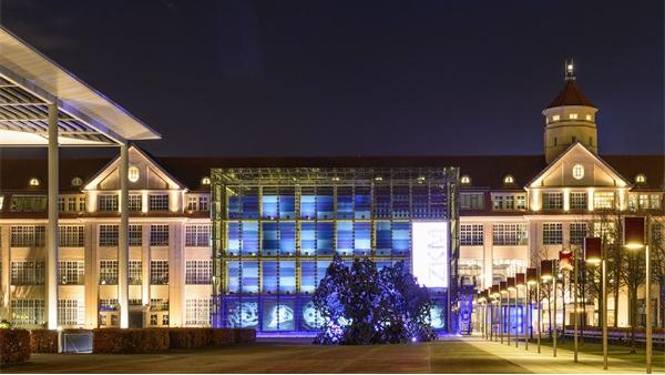 欧式建筑照明工程常见的亮化方案