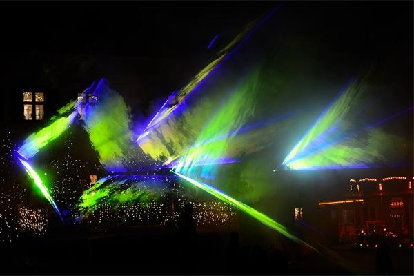 山体灯光工程要注意对生态的保护