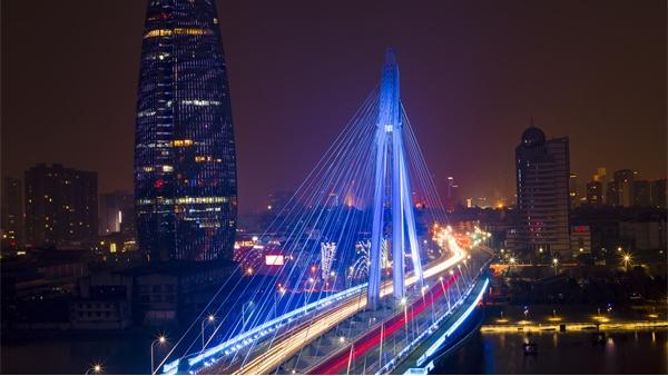 城市夜景灯光照明让城市名片更加响亮
