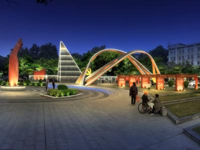 广场亮化工程-成为城市夜景名片