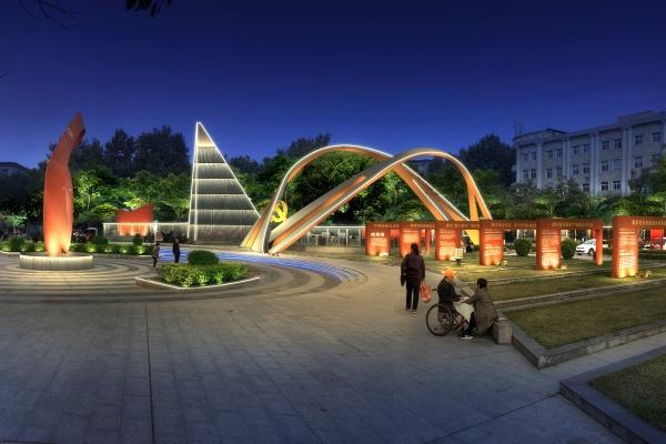 广场亮化工程