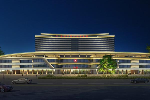 医院楼体亮化设计