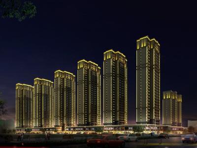 居民楼楼体亮化-用灯光打造建筑艺术