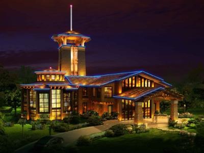 酒店照明设计-体现酒店夜景效果