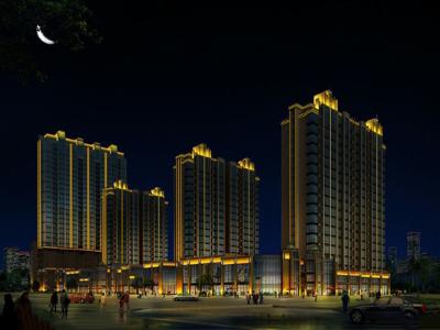 小区景观亮化-满足人们夜间照明需求