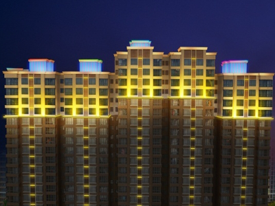 小区亮化工程-展现小区夜景特色