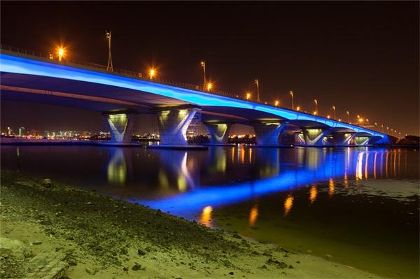 城市夜景灯光照明