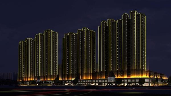 住宅楼亮化照明越来越受到人们的关注
