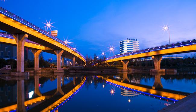 提升城市夜间景观经济