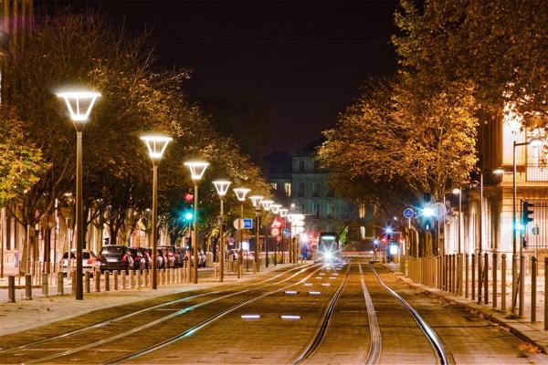 城市道路灯光照明