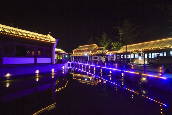 景区灯光艺术照明