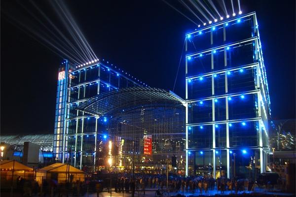 楼宇led亮化设计塑造城市夜间形象