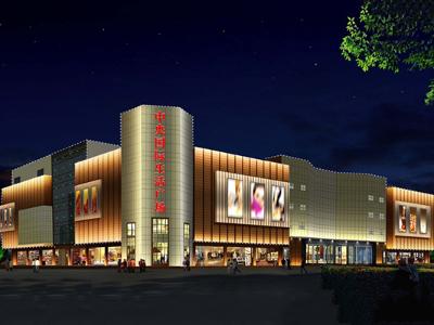 商业楼亮化工程-使建筑在夜景中独具一格